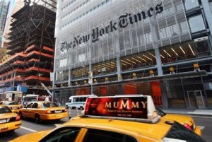 New York Times to charge for online content