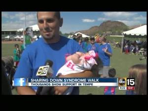 Thousands walk in Tempe for Down syndrome kids