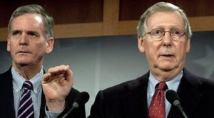 Senate GOP denied on spending filibuster
