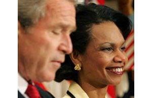 Bush promotes Rice to Secretary of State