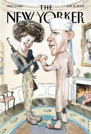 Obama camp: Satirical magazine cover 'tasteless'