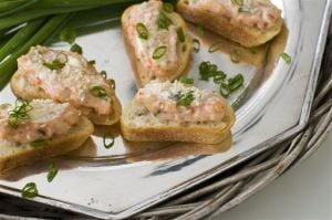 Food-Healthy-Shrimp Toasts