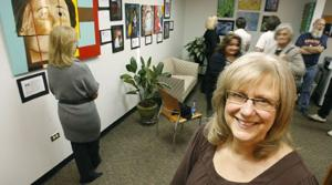 Superintendent's office doubles as art gallery