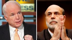 McCain to oppose Bernanke confirmation