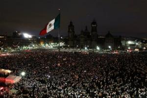 Tens of thousands of Mexicans protest crime wave