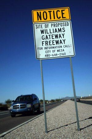 Mesa to use bonds to jump-start new freeway