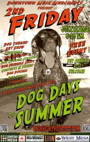 2nd Friday: 'Dog Days of Summer'