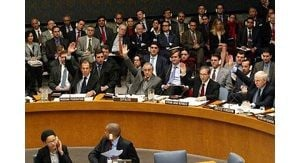 10/16 - U.N. unanimously adopts Iraq resolution