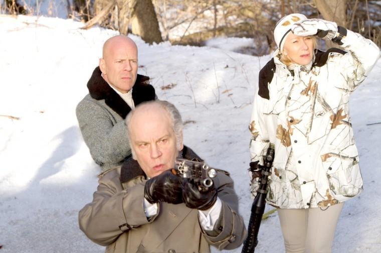 John Malkovich, Bruce Willis, Helen Mirren