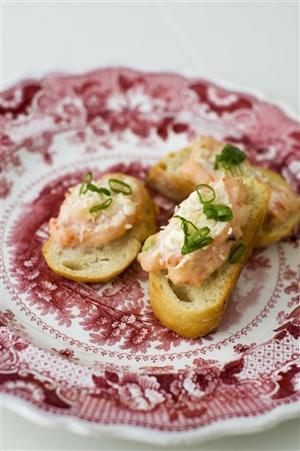 Food-Healthy-Shrimp Toasts