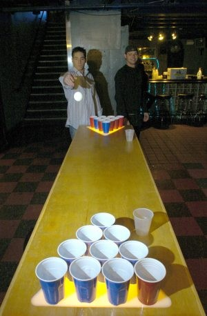Tempe bar serves up competitive beer pong