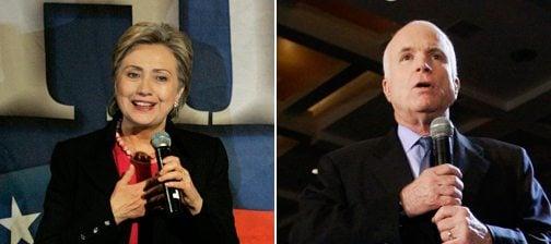 New York Times endorses Clinton, McCain