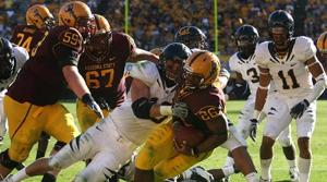 ASU football notes: Marshall steps up at RB