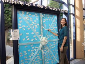 Kyrene holiday gift donation for needy students