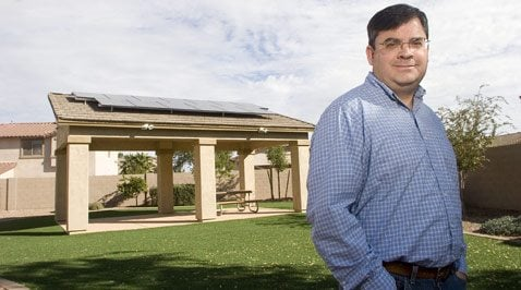 Solar energy use by Arizonans heating up