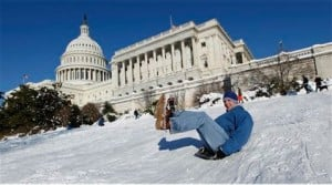 A postcard to blizzard refugees of Washington and other points east