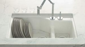 Plumber casts vote for cast-iron sinks