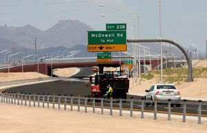 Get a close-up view of newest leg of Loop 202
