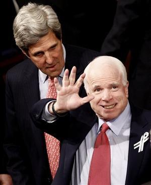 John Kerry, John McCain