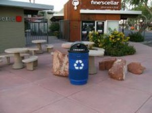 Scottsdale adds recycling bins downtown