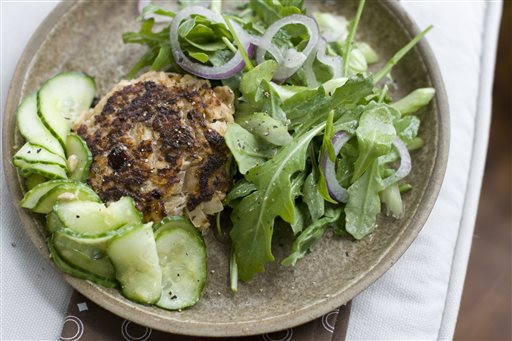 Food Healthy Salmon Cakes