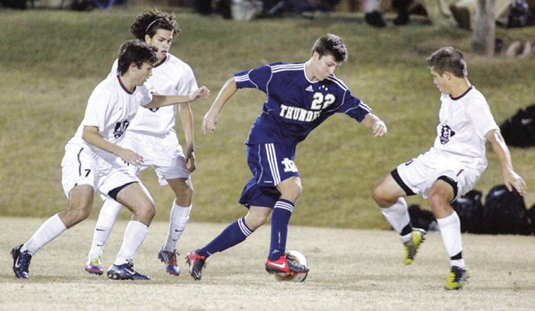 Desert Vista vs. Hamilton boys soccer