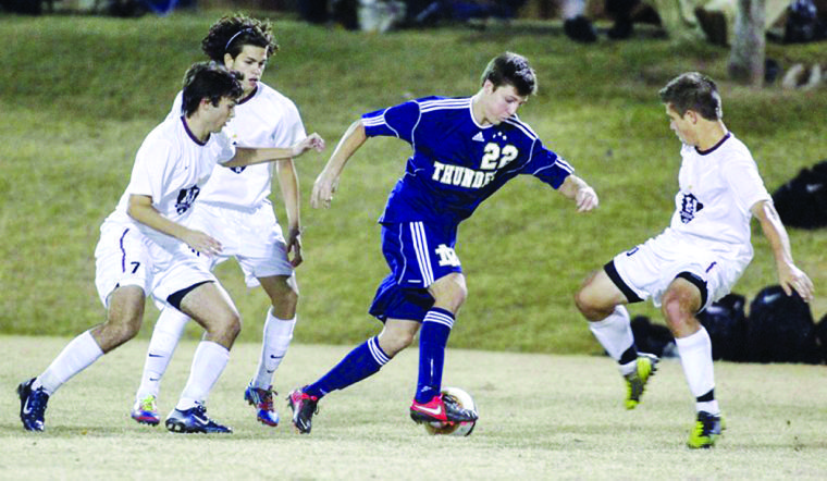 Desert Vista vs. Hamilton boys soccer