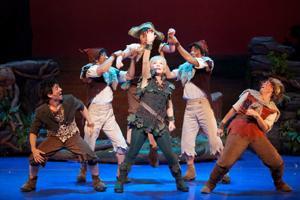 Cathy Rigby as Peter Pan