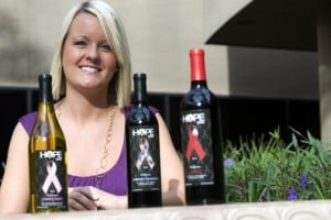 Entrepreneur's wine label raises charity funds