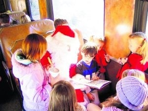 Arizona train rides take Christmas spirit on board