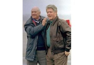 President Clinton's stepfather dies