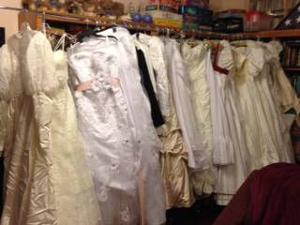 Gilbert woman uses wedding gowns to make clothes for deceased infants