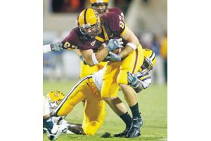 Miller brothers give ASU formidable tight ends