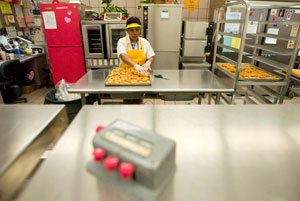 Soaring costs forcing school lunch changes