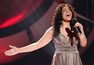 Jordin Sparks delivers inspirational 'Idol' performance