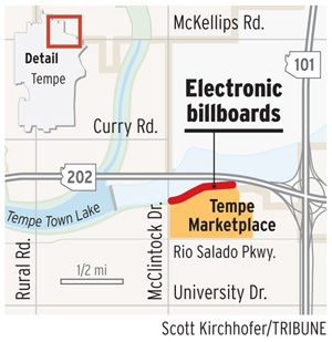 East Valley to see names in lights on billboards