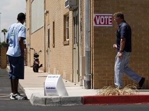 Voter turnout near 20 percent in Maricopa County