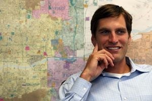 Romney's son pushes dad's fundraising in Valley