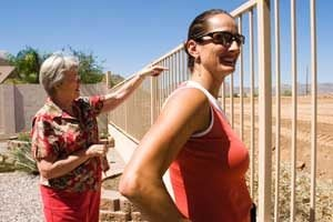 Blocked view irks some east Mesa residents