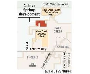 Residential development heads for Cave Creek
