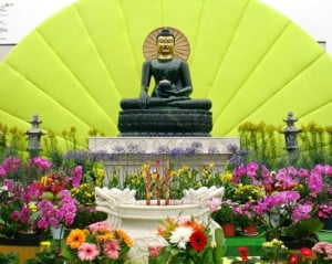 Jade Buddha for Universal Peace Tour