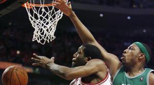 Gordon, Bulls beat Celtics 121-118 in 2 OT