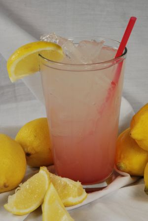Flancer's prickly pear spiked lemonade