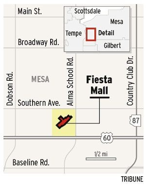 Man stabbed to death at Mesa's Fiesta Mall