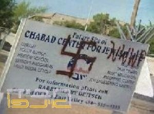 Graffiti on Jewish sign troubles community