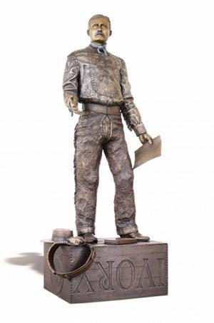 Tom Bollinger's Roosevelt sculpture