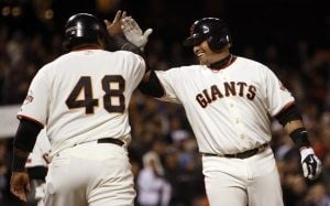 Molina, Giants power past Diamondbacks