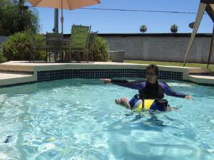 Pet swim safety