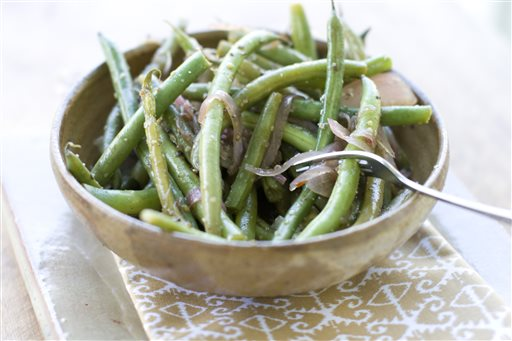 Food Pickled Green Beans