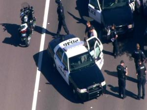 Police pursuit in Gilbert